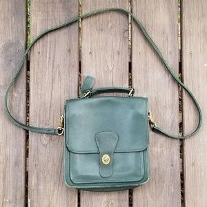 Vintage Coach Leather Court Bag